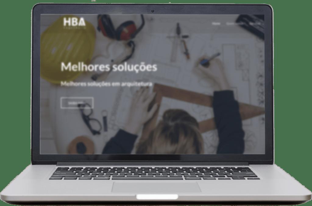 site institucional é simples, mas permite começar trabalhar Marketing Digital e SEO